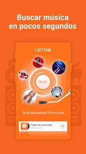 LISTENit-Reproductor de música Screenshot