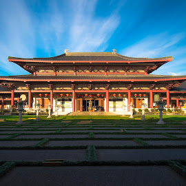 Fo Guang Shan Buddhist Temple New Zealand by Roopam Choudhury - Buildings & Architecture Places of Worship ( buddhist temple, buddha, buddhist, temple, buddhism )
