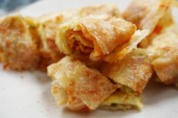 早堂早午餐-炸蛋餅|江子翠早餐、江子翠蛋餅|附早堂菜單