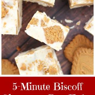 5-Minute Biscoff Cinnamon Bun Fudge