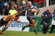 Juarno Augustus of Western Province during the SuperSport Rugby Challenge match against Free State at the Green Point Track, Cape Town on July 1 2018.