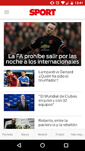 SPORT.es screenshot 0