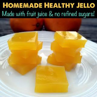 Homemade Healthy Jello Snacks.
