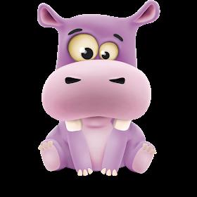 Happy Hippo Live Wallpaper