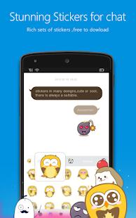 Flash Keyboard Emoji - náhled