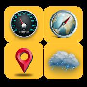 GPS Tools: GPS Speedometer && Weather forecast App