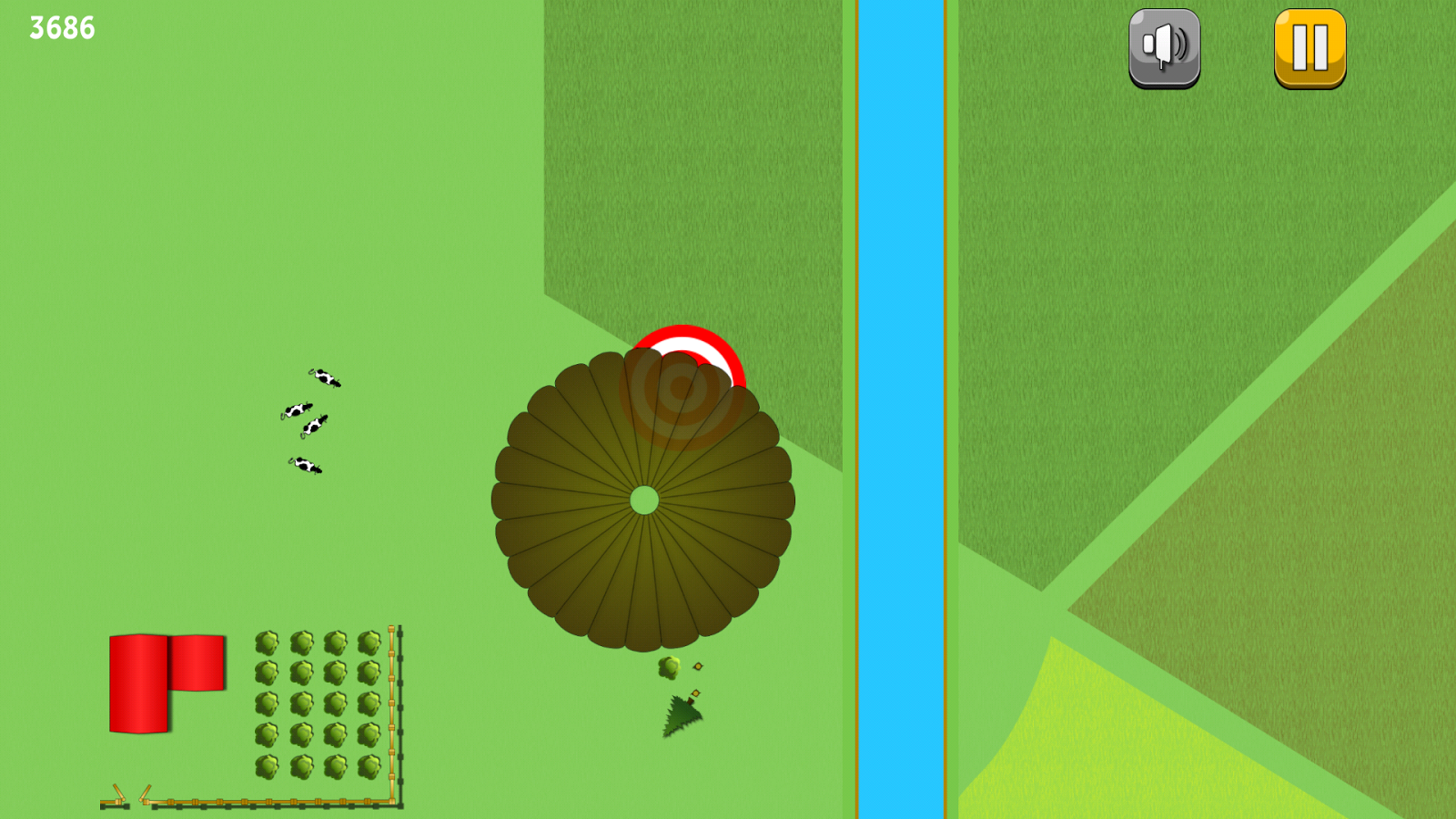 Paratrooper Person's: Sky Jump- screenshot
