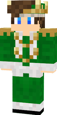 I just wanted a green skin :3
