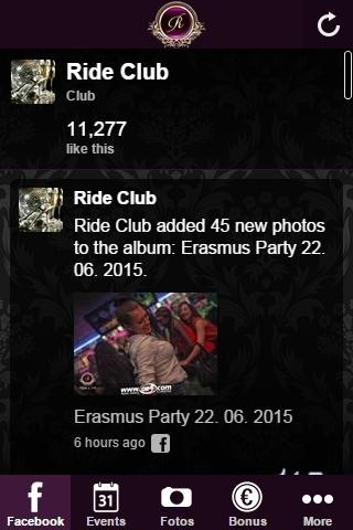 Ride Club – Screenshot