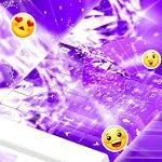 Purple Diamonds Keyboard