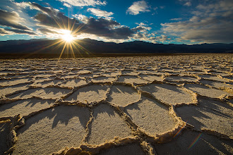 Photo: Badwater Sun  I'm seeing a lot of chatter in the interwebs about shooting in Death Valley this winter. I was there last January and am pining to go back. I might have to check the calendar and look for some cheapo flights.  #brianneedsatravelsponsor