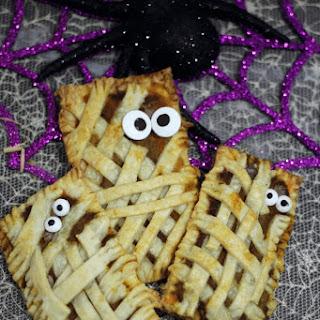 Halloween Mummy Pumpkin Pop Tarts