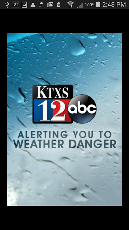 KTXS Wx- screenshot