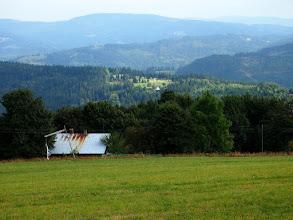 Photo: Barania Góra, a po prawej Żywiecki.