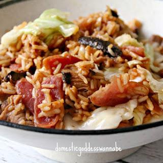 Cabbage Rice.