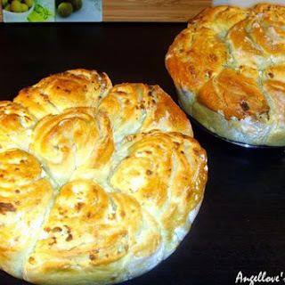 Boyar Round Loaf With Feta Cheese
