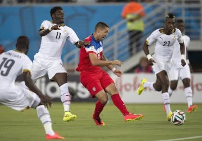 Le Ghana surpris par les Etats-Unis