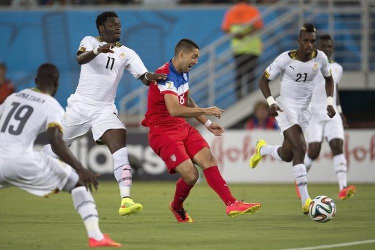 Snelle goal Dempsey en late treffer Brooks nekken sterk Ghana