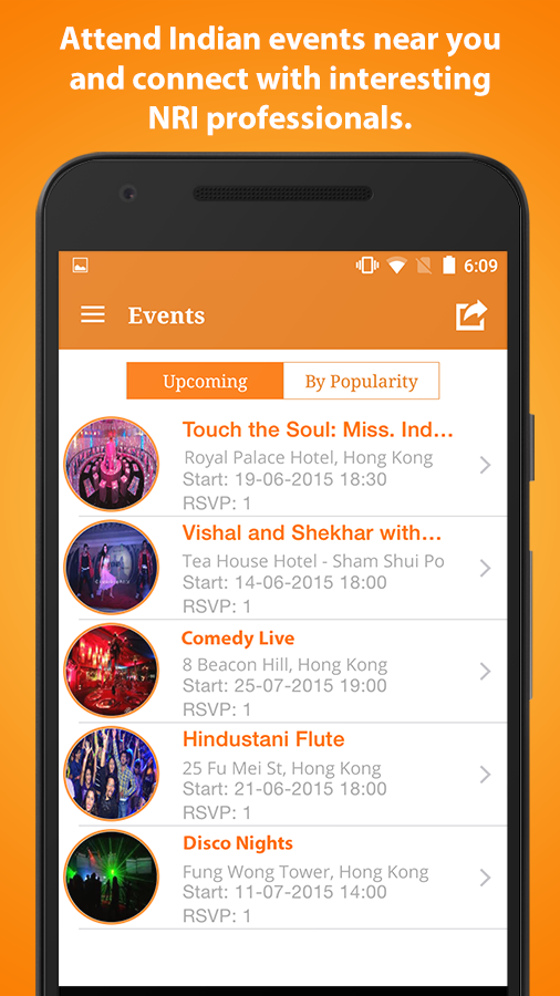 IndiansInHK - #1 Live Chat Events Free Classifieds- screenshot