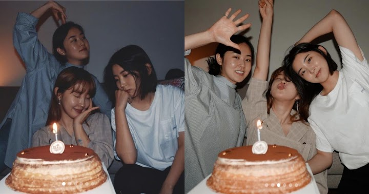 Three Out Of Five 4MINUTE Members Got Together To Celebrate