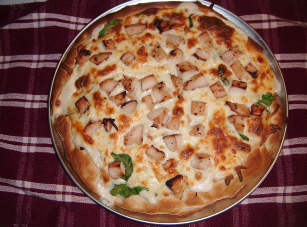Chicken White Pizza Recipe
