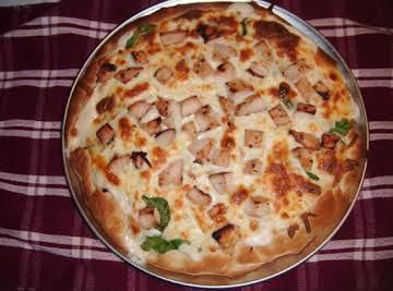 Chicken White Pizza