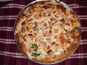 Chicken White Pizza