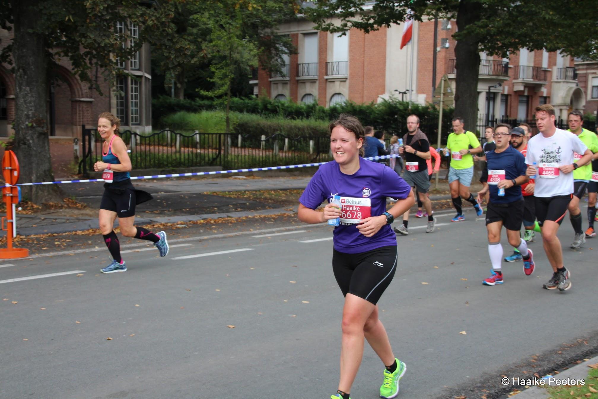 Halve marathon Brussel (Le petit requin)