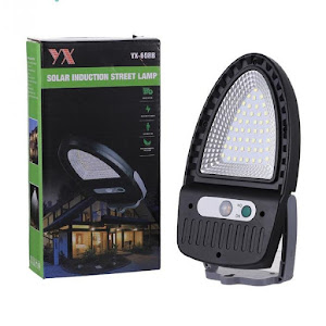 Lampa solara LED COB, 1200 mAh, senzor de miscare