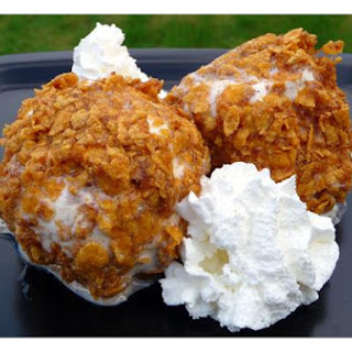 Deep Fried Ice Cream Corn Flakes Recipes