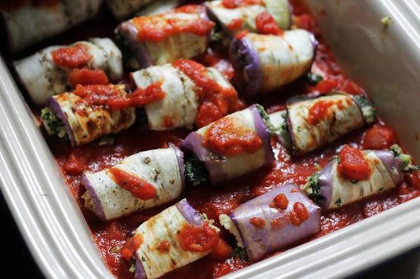 Vegan Eggplant Rollatini Recipe