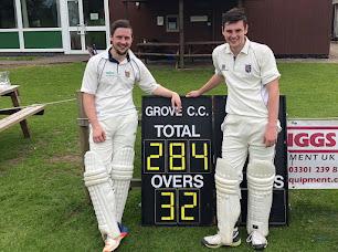 Pair make cricket history