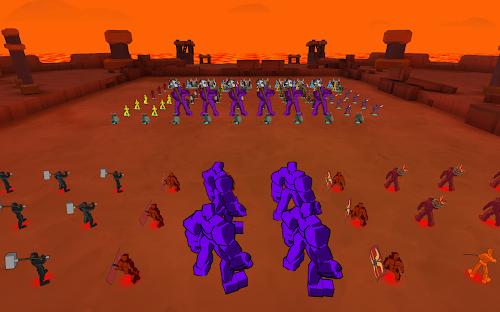 Screenshot 3 Epic Battle Simulator 1.6.50 APK MOD