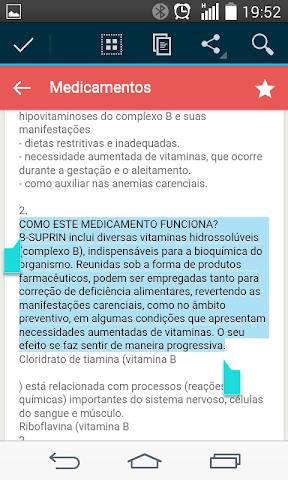android Bulas de Medicamentos Screenshot 3