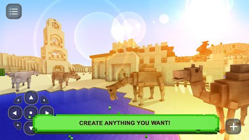 玩免費模擬APP|下載Desert Block Craft Exploration app不用錢|硬是要APP