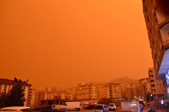 Photo: A desert storm in Mardin