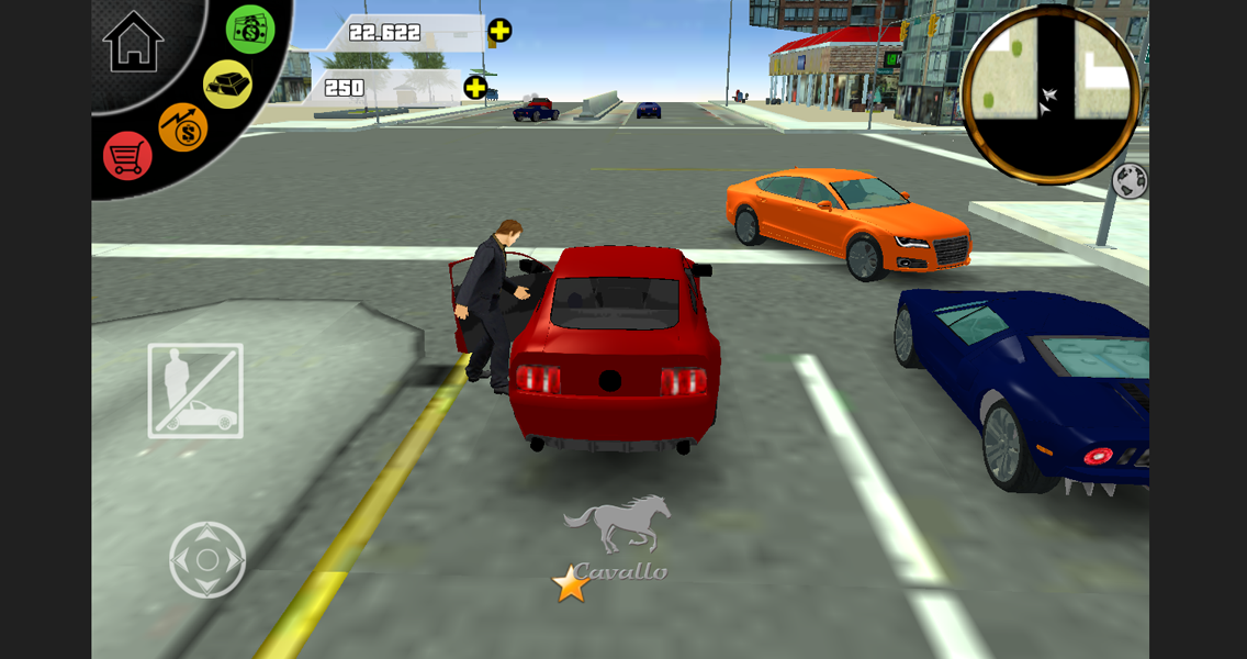 Screenshots of San Andreas: Real Gangsters 3D for iPhone