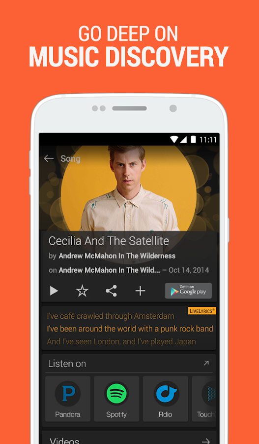 SoundHound Music Search- screenshot