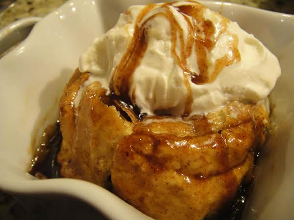 Apple Dumplings With Spiced Bourbon Caramel Sauce Recipe