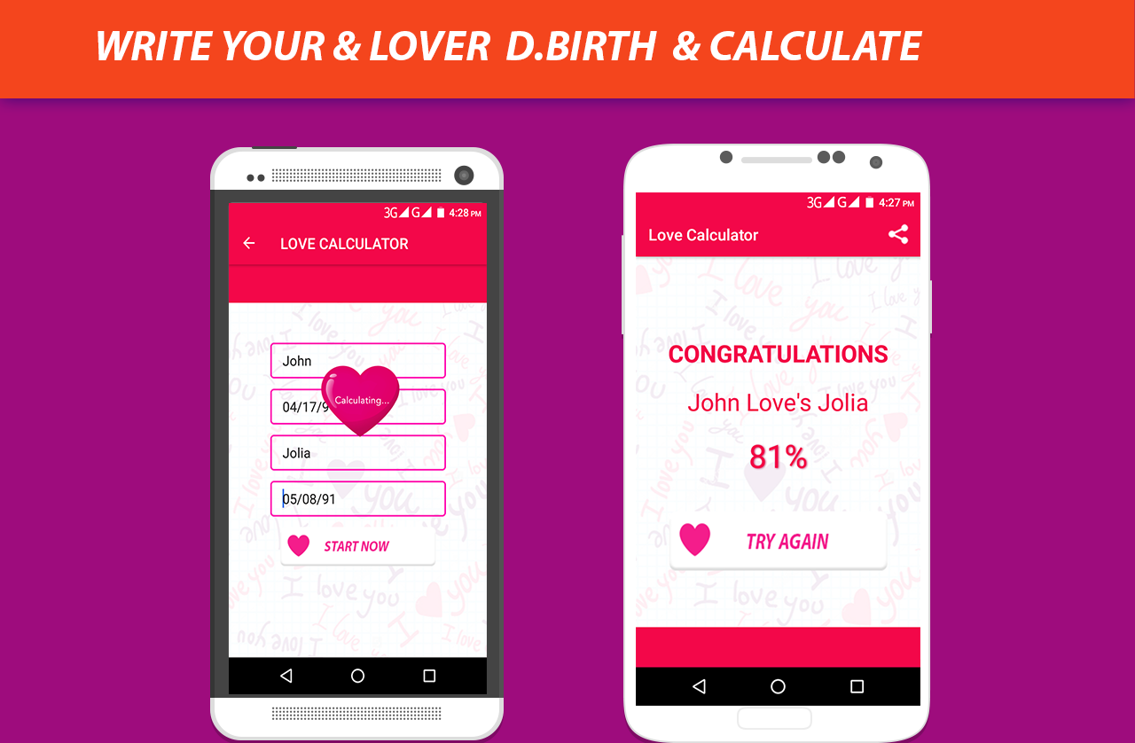 Uncategorized Love Caluclator real love calculator tester android apps on google play screenshot