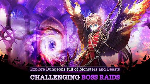 Code Triche Donjon et du00e9esse : collection de hu00e9ros RPG APK MOD screenshots 4