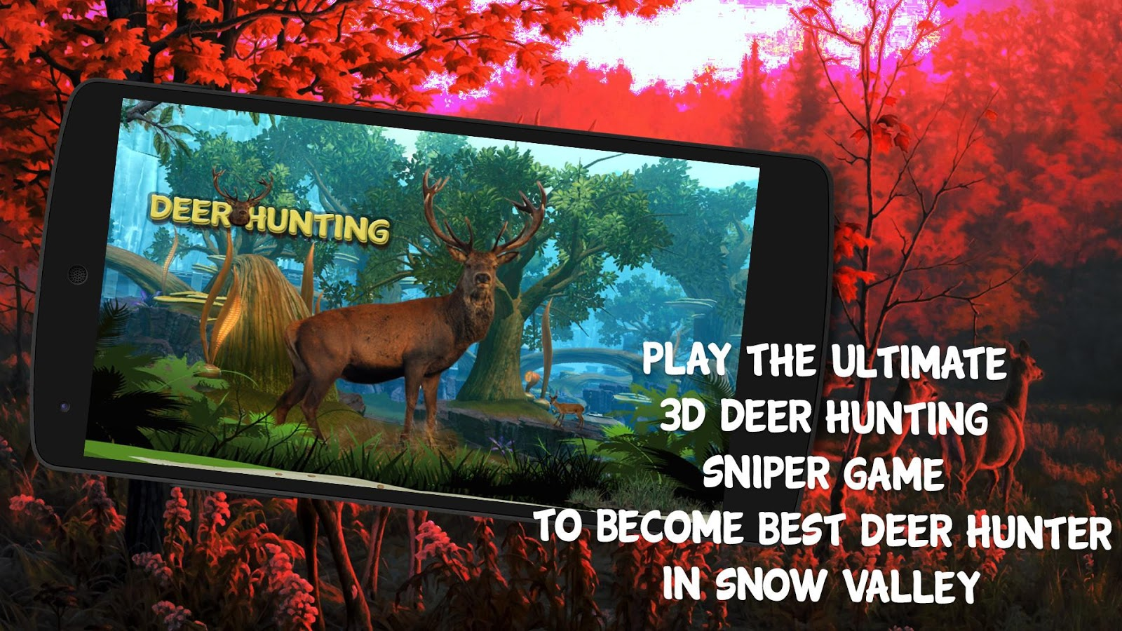 Deer Hunting in Hunter Valley- screenshot