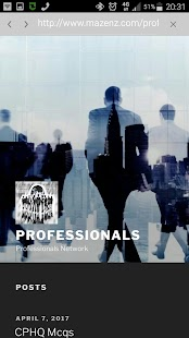 Professionals- screenshot thumbnail
