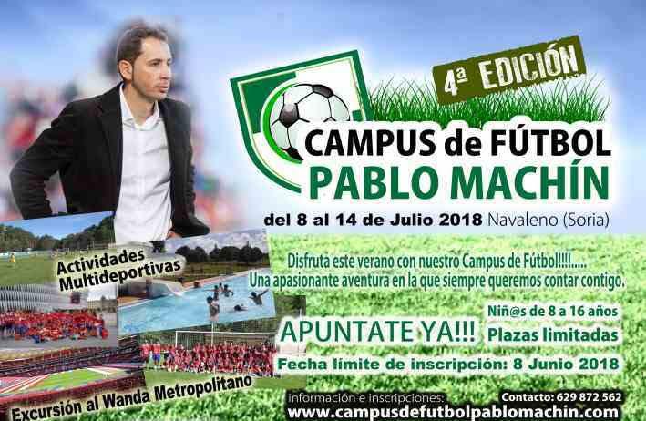 4º Campus de Futbol Pablo Machin