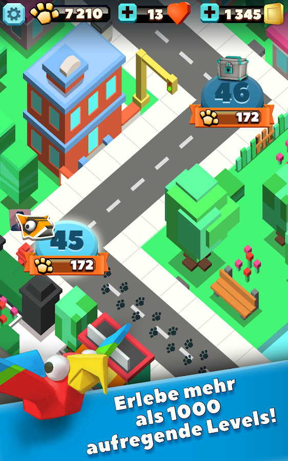 Wild City Rush – Screenshot