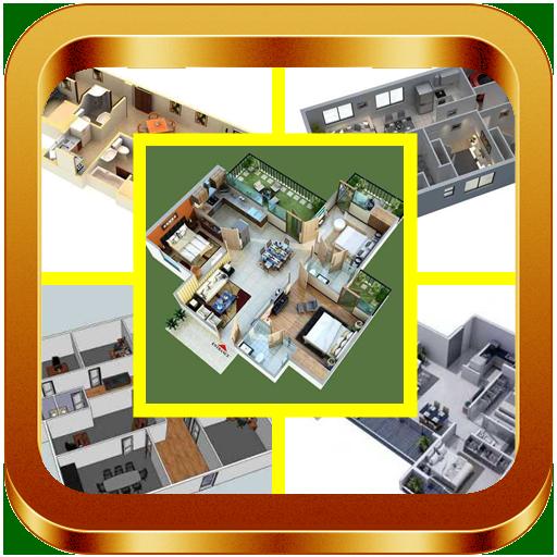 3D Modular Home Floor Plan