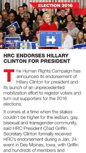 HRC Equality Magazine  screenshots 2