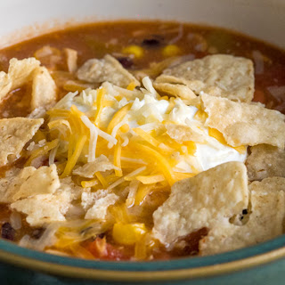 8-Can Chicken Taco Soup.