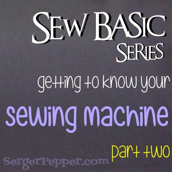 Serger Pepper - Sewing Machine Parts title