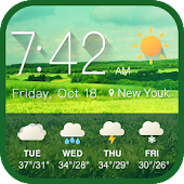 Real-time Weather report & Widget